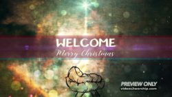 Christmas Advent Welcome Motion