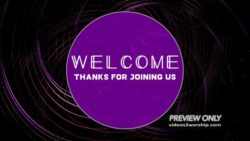 Abstract Design Welcome Motion