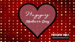 happy mothers day hearts and stars videos2worship free motion