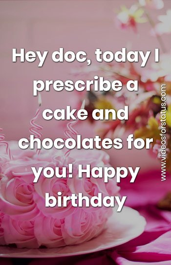 Birthday Wishes Doctor Wtih Birthday Messages Quote Images For Doctor 2021