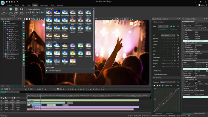 Imagini pentru VSDC Free Video Editor
