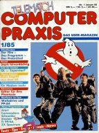 Ab Ende 1984 hieß das Magazin Telematch Computer Praxis und hatte seinen Heftinhalt auf die Homecomputer umgestellt. (Bild: M. Cavendish)