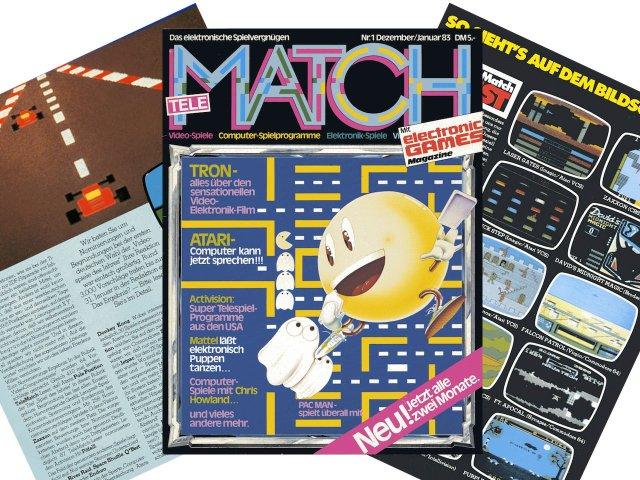 Die Telematch gilt als die erste deutschsprachige Fachzeitschrift für Videospiele überhaupt. (Bild: André Eymann)
