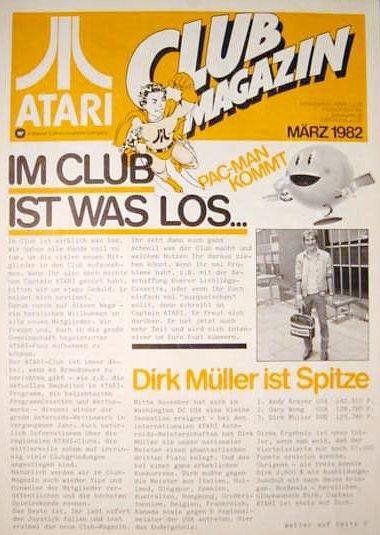 Ausgabe vom März 1982. (Bild: Atari)