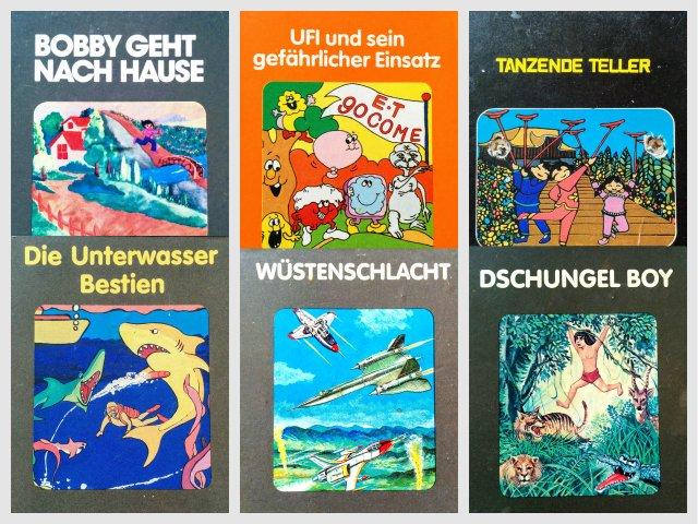 Deutsche Atari VCS Titel von Quelle. (Bild: André Eymann)