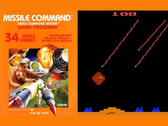 Missile Command. Der ultimative Angriff auf die Heimkonsole. (Bild: Andreas Wanda)