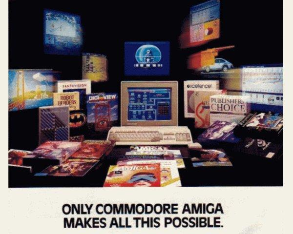 Commodore machts möglich: Stur verzettelte sich das Management im starren Heimcomputer-Zeitalter und promotete eine Leistungsfähigkeit mit Ablaufdatum, obwohl der Amiga problemlos erweiterbar gewesen wäre. Der breiten Massen blieb dies unbekannt, Erweiterungen blieben kostspielige Nischenprodukte. (Bild: Andreas Wanda)