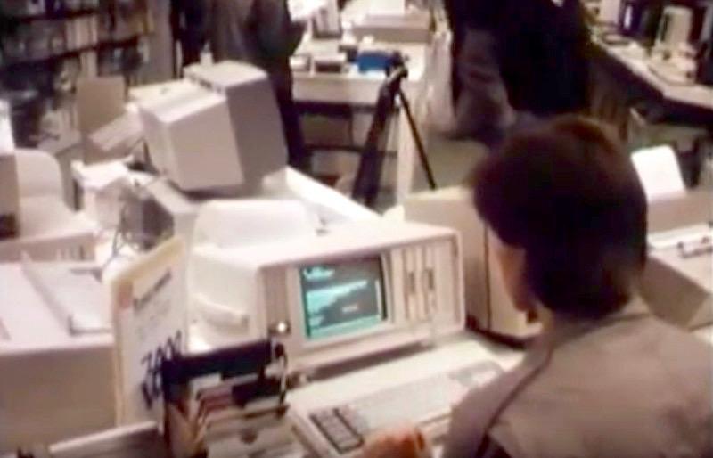"""Bilder aus einer Zeit in der Computer noch """"Mikrocomputer"""" genannt wurden. (Bild: Heimcomputer auf dem Vormarsch, BR Dokumentation)"""