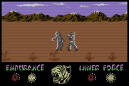 The Way Of The Tiger für C16 und Plus/4 aus 1986. (Bild: Gremlin Graphics)