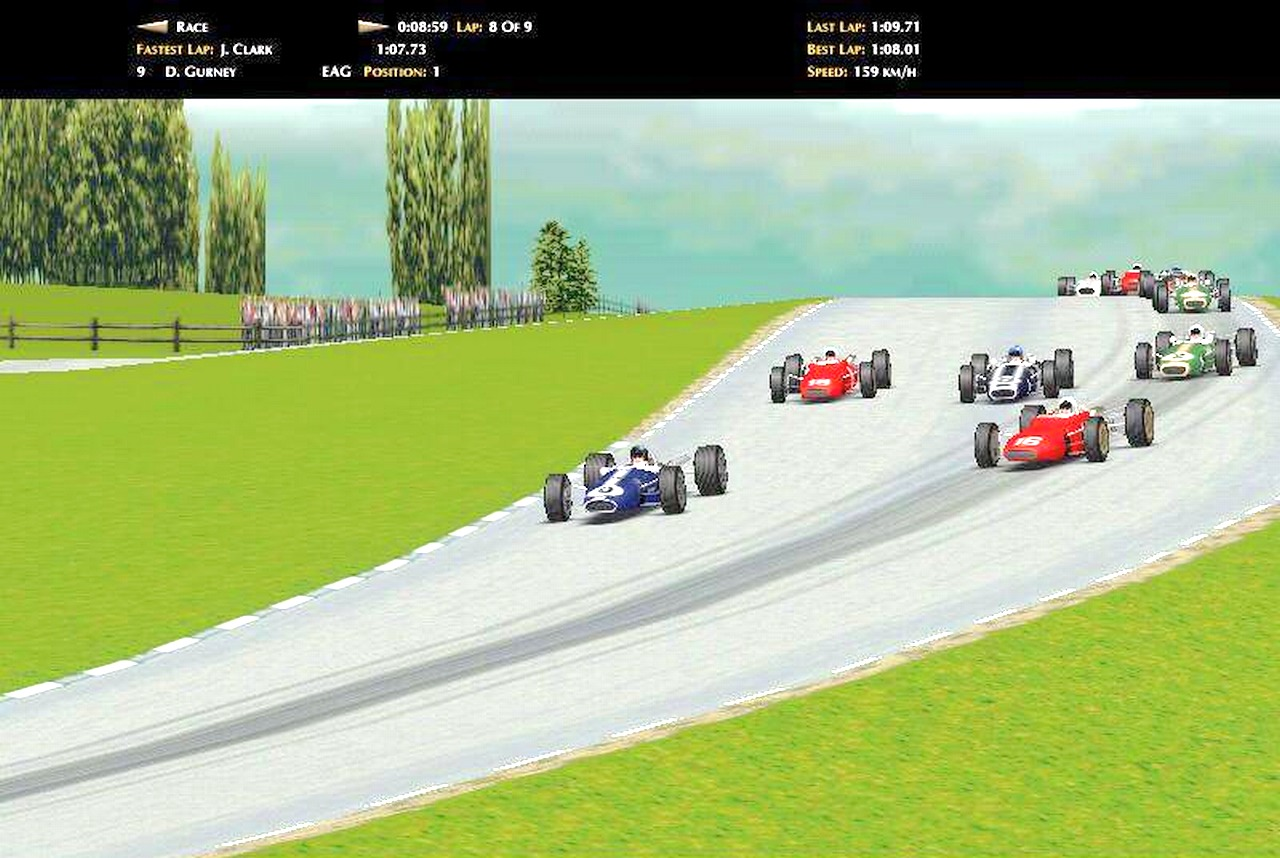Grand Prix Legends. (Papyrus Design Group, 1998)