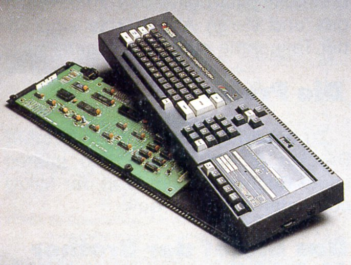 Der Heimcomputer Schneider CPC. Die HC erklärt ihren Lesern, was der englische Verkaufsschlager unter der Haube habt. (Bild: Vogel-Verlag)