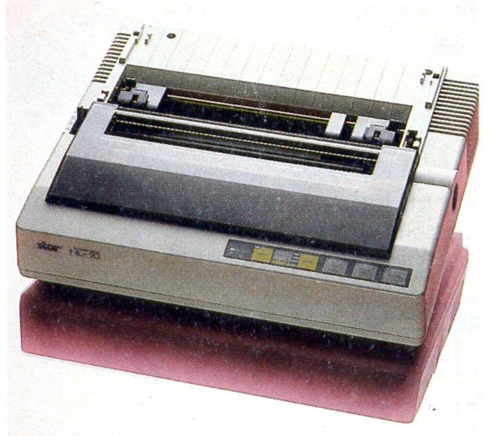 Der 9-Nadel Matrixdrucker Star NL-10 mit einer Centronics-Schnittstelle, war seinerzeit ein beliebtes Druckermodell. (Bild: Vogel-Verlag)