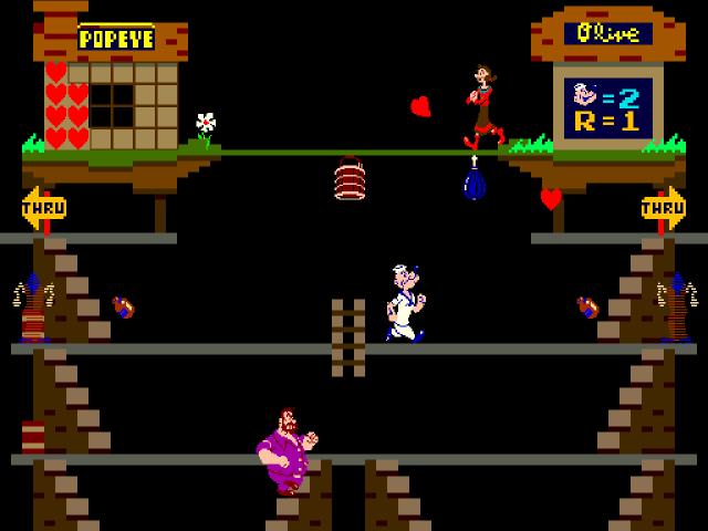 Popeye war ein beliebter Automatenhit in den 1980er Jahren. (Bild: André Eymann)