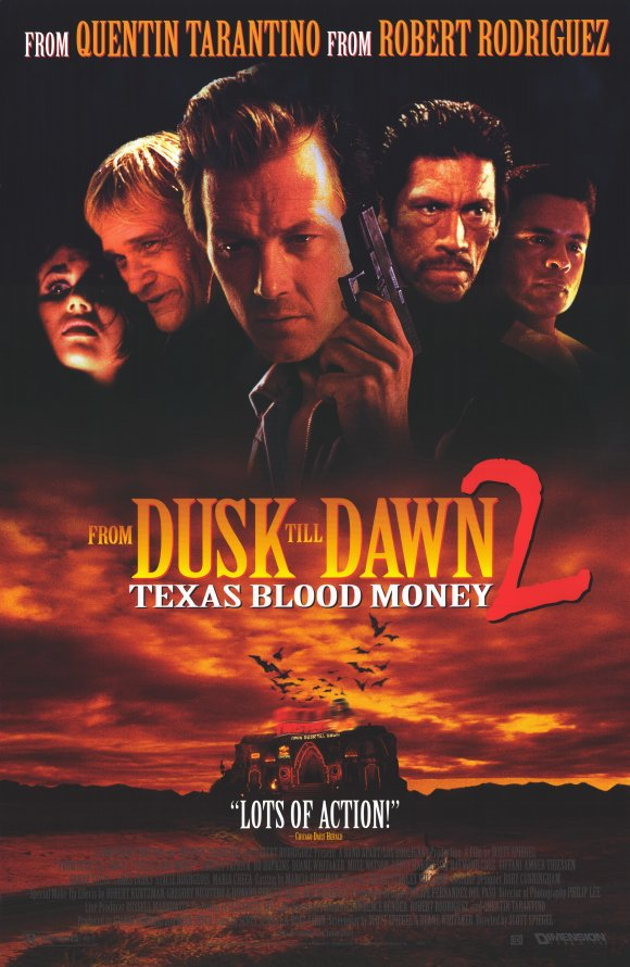 From Dusk Till Dawn 2 Texas Blood Money poster
