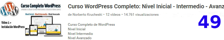 curso de wordpress en youtube