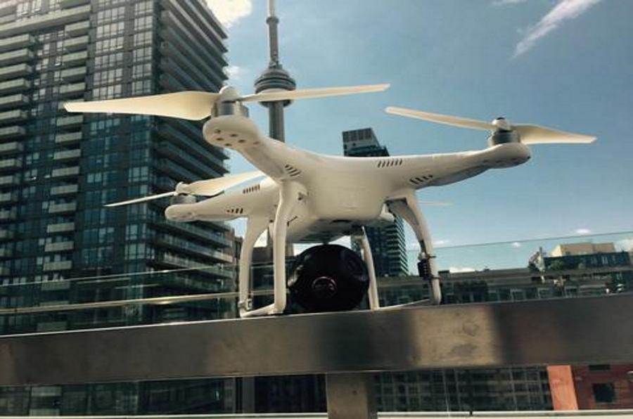 Bublcam en Drone