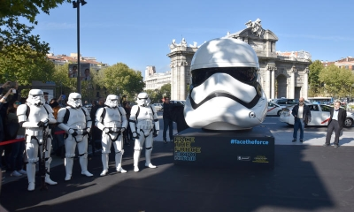 Cascos Star Wars Madrid