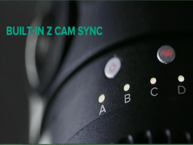 sincronización de cámaras Z CAM S1