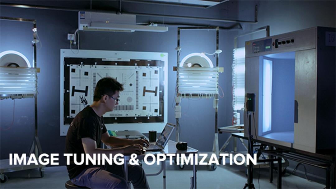 Optimización y ajuste de imagen