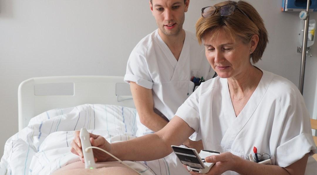 Kardiologiske sykepleiere på St. Olavs hospital i Trondheim