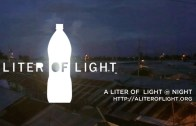 A Liter Of Light At Night