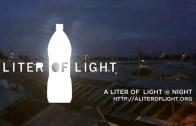 A Liter Of Light At Night