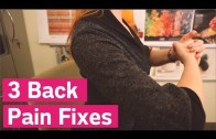 60-Second Back Pain Fixes