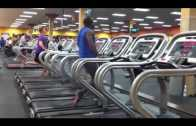 Funny Man Dancing On A Treadmill