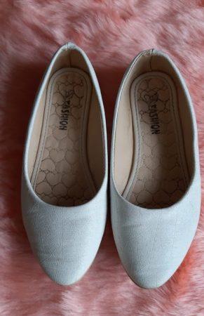 souliers blancs