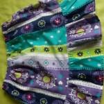 jupe multicolore