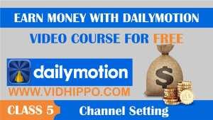 Earn Money dailymotion