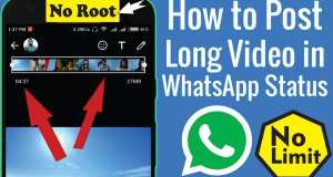 Send Full Video on Whatsapp