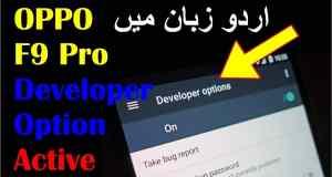 Enable Developer OIptions in OPPO