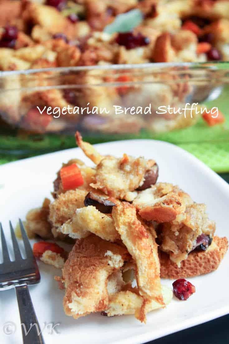 Vegetarian Bread Stuffing