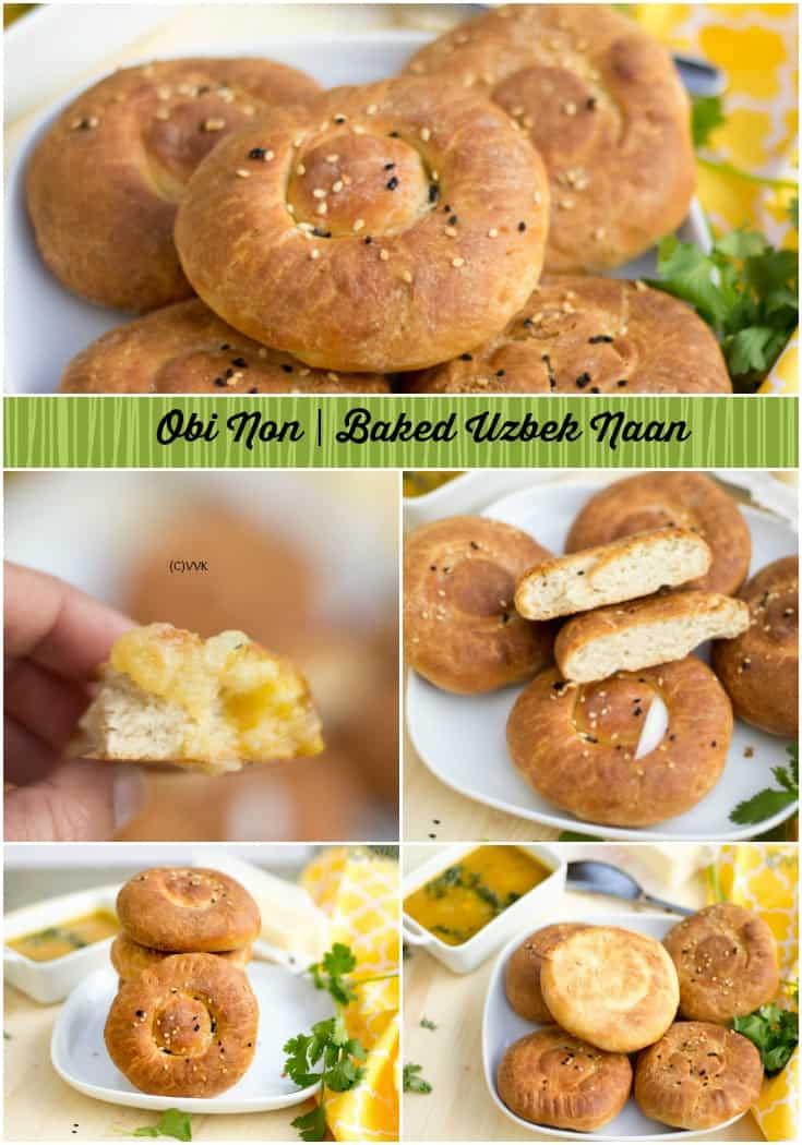Baked Naan   Uzbek special Obi Non