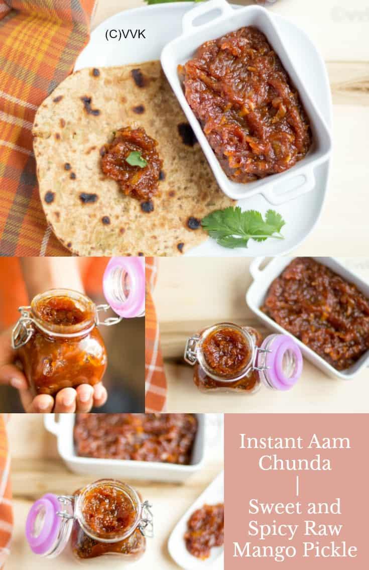 Instant Aam Ka Chunda