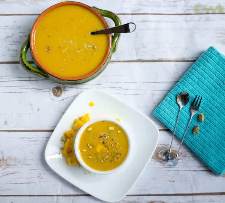 Vegan Mango Phirni