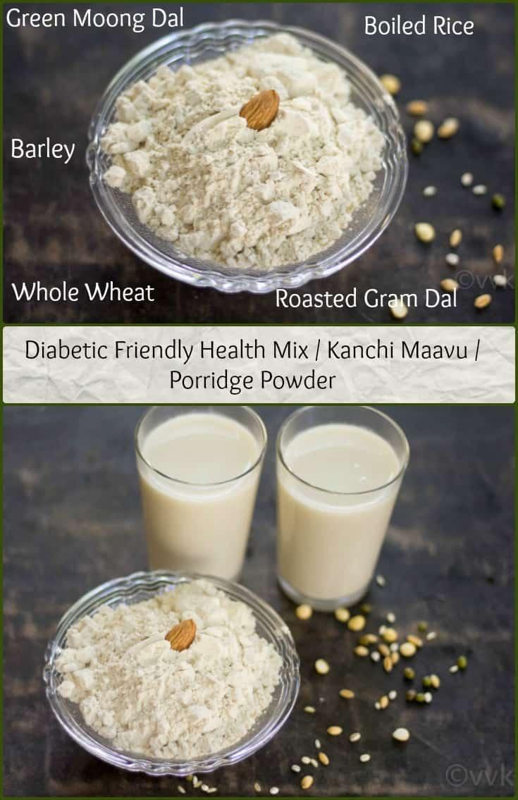 Diabetic Friendly Kanchi Maavu