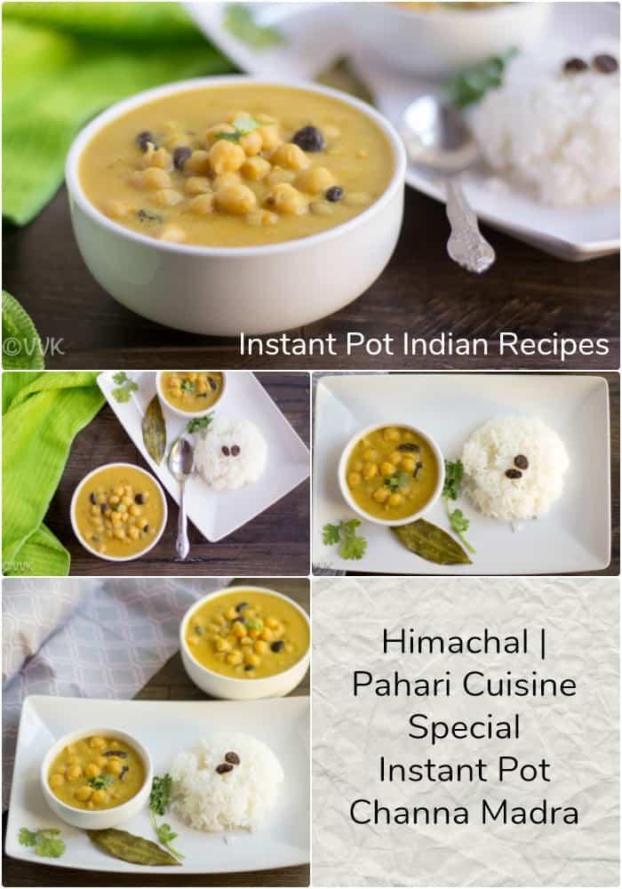 Instant Pot Channa Madra
