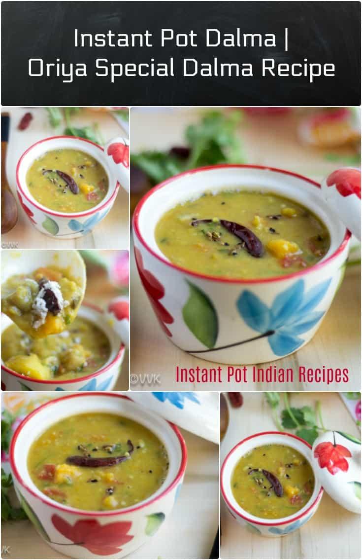 Instant Pot Oriya Dalma | Oriya Special Dalma Recipe