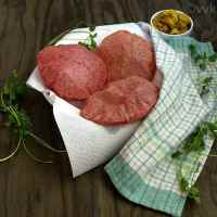 Rotimatic Beetroot Puri