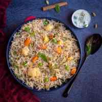 Vegetable Pulao | Instant Pot Veg Pulao | Easy Veg Pulav