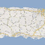 Detailed Road Map Of Puerto Rico With Cities Puerto Rico Detailed Road Map With Cities Vidiani Com Maps Of All Countries In One Place