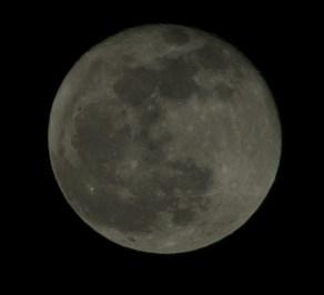Mjesec iznad Zagreba - Moon above Zagreb