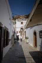 Lindos ulica - Lindos street