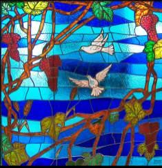 Fabricación y diseño de vidriera para capilla