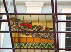 Fabricación de vidrieras para el Palacio Buenavista