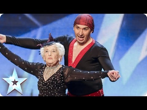 80 Year Old Salsa Dancer