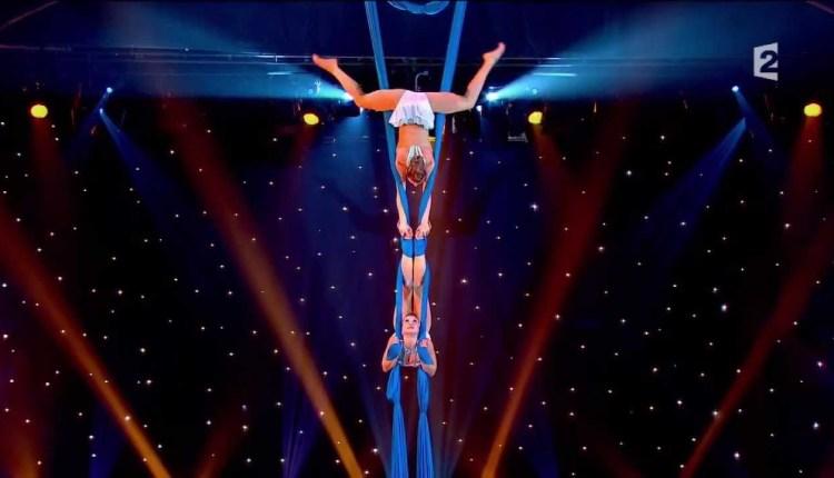 Aerial Silks Duo – Oksana and Olga