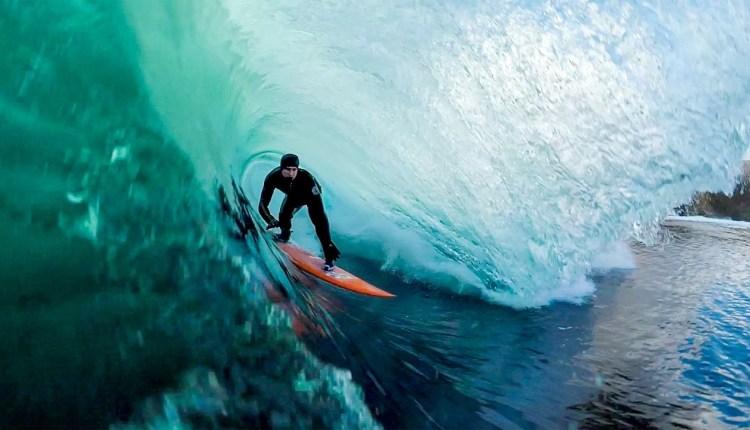 Amazing Adventurous Surfer